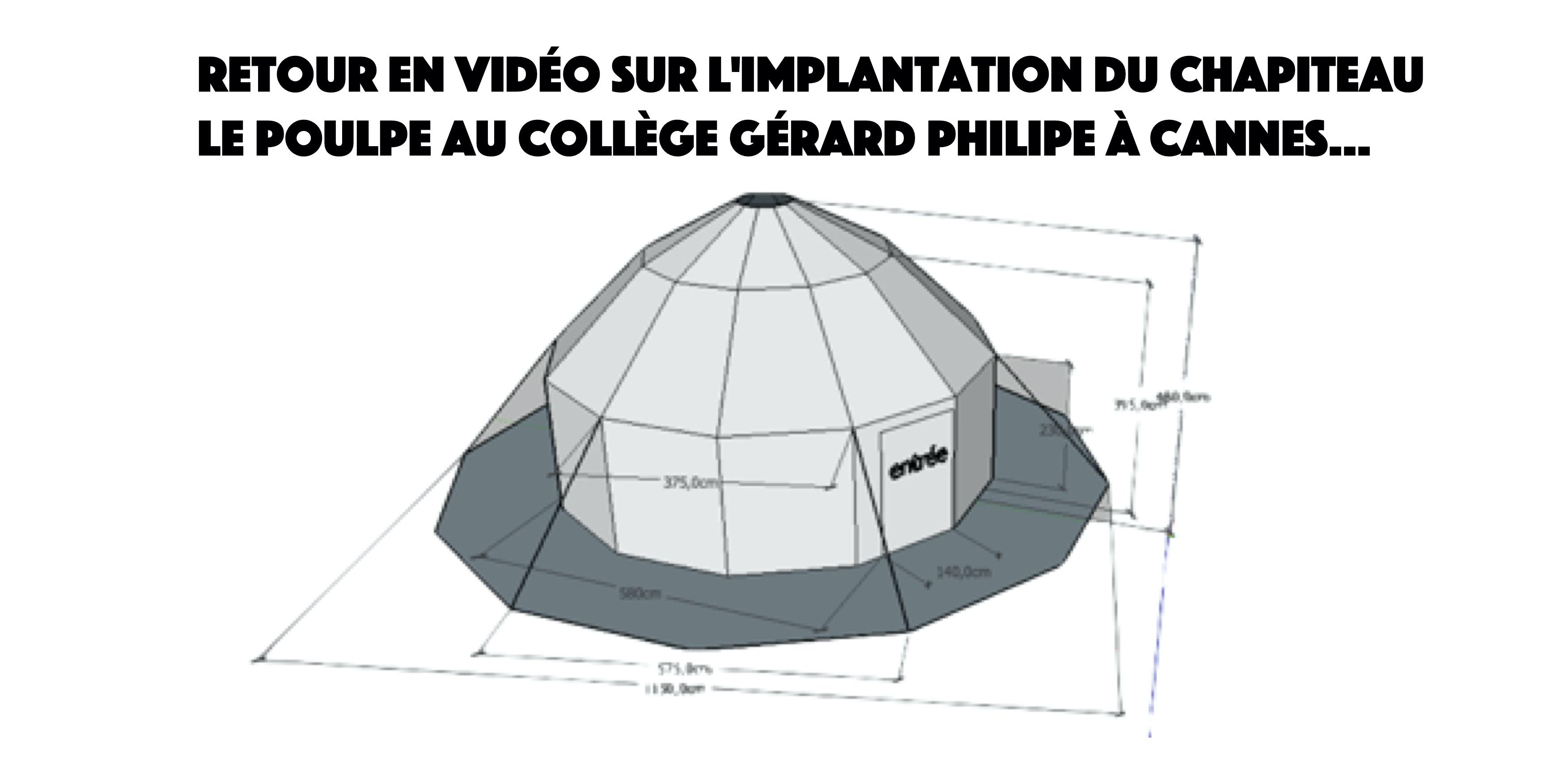 Retour en vidéo sur l'implantation au collège Gérard Philipe de Cannes