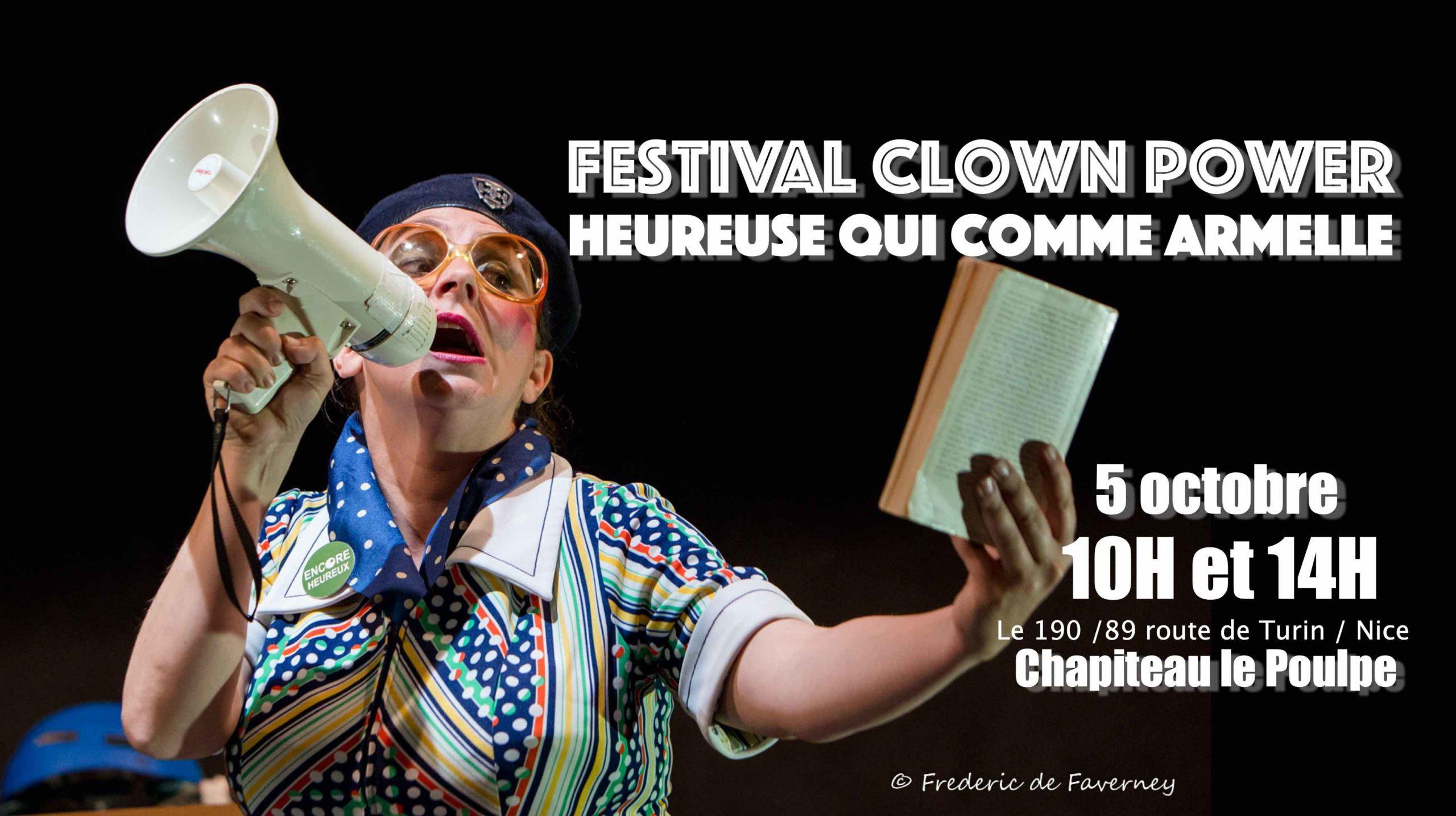 Armelle clown power